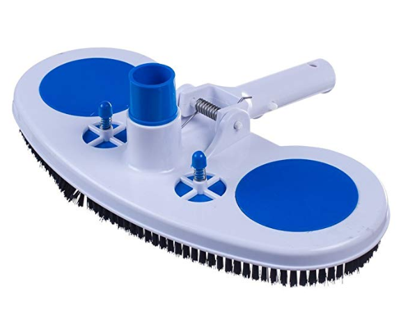 Swimming Pool Vacuum Head Cleaner Cleaning Brush Above Ground Suction Head M0V9